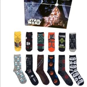 StarWars 12 Days Of socks